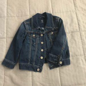 Gap kids super soft denim jacket - size 3